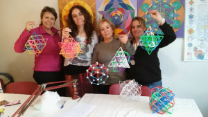 Vector Equilibrio o 64 Tetraedro @ Espacio de Geometría Sagrada
